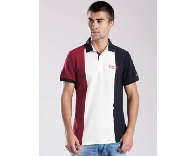 Tommy Hilfiger Solid Men's Polo T-Shirt