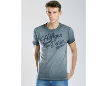 Tommy Hilfiger Printed Men's Round Neck T-Shirt