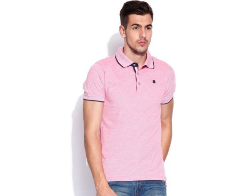 Lee Solid Men's Polo T-Shirt