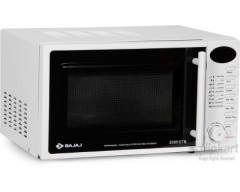 Bajaj 2005ETB 20 L Grill Microwave Oven(White)