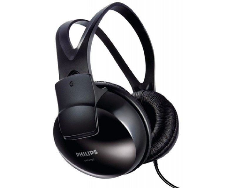 Philips SHP1900/97 Wired Headphones(Black, Over the Ear)