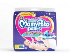 Mamy Poko Pants - S  (80 Pieces)