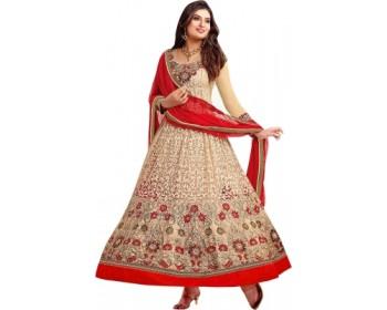 Giftsnfriends Georgette Self Design Salwar Suit Dupatta Material(Un-stitched)