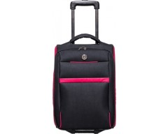 Giordano Cabin Luggage - 18(Black and Red)