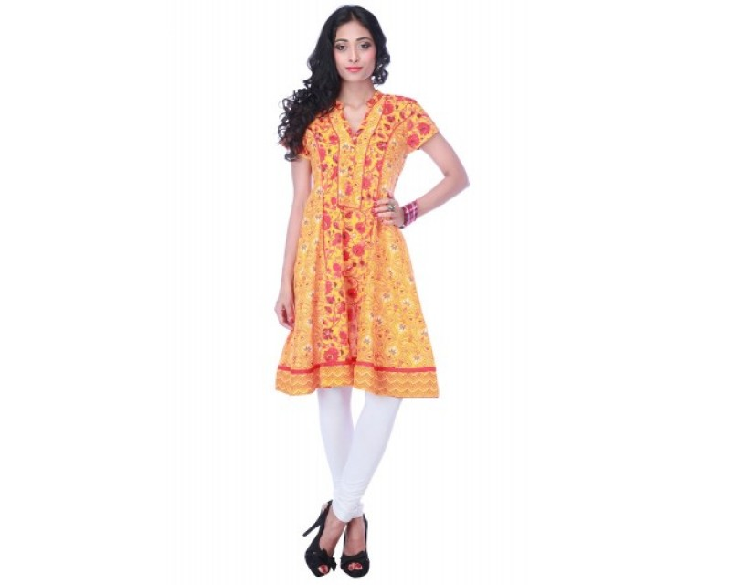 Ladies Cotton Mix-And-Match Kurta