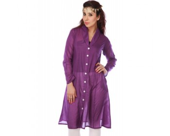 Ladies Violet Kurta