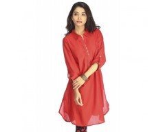 Ladies Silva Red Kurta