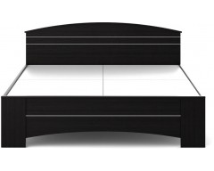 Spacewood Engineered Wood Queen Bed  (Finish Color - Melamine)