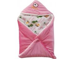 My NewBorn Printed Single Blanket Pink  (Blanket)