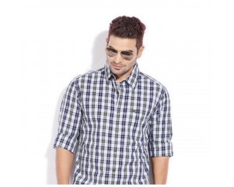 Levo Checked Shirt