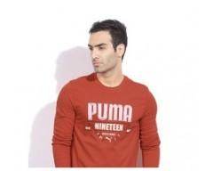 Puma Red Full T-Shirt
