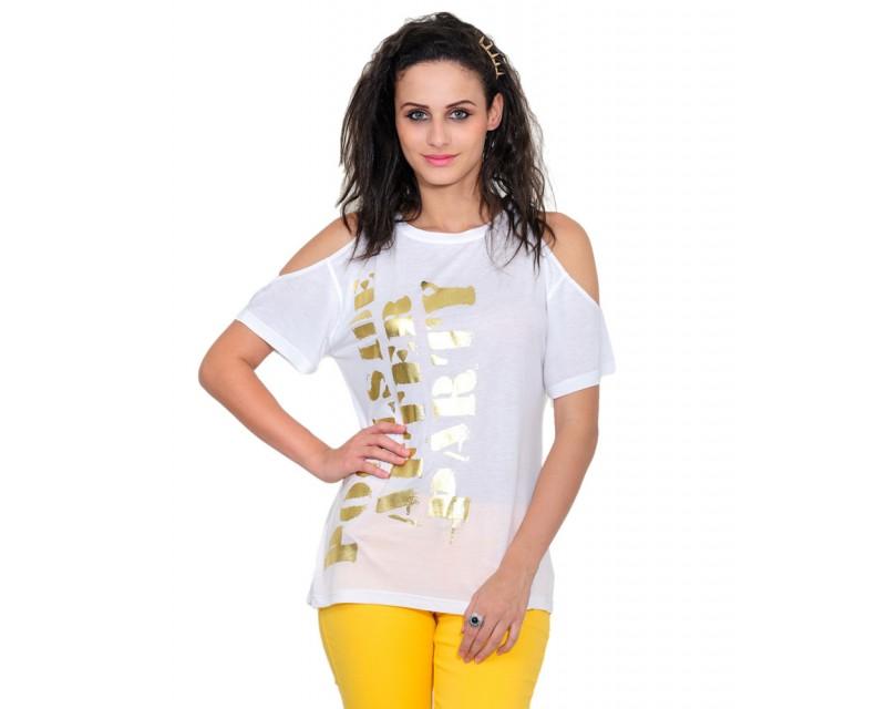 White Fashion Top