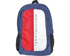 Tommy Hilfiger Biker Club Horizon 20.7 L Medium Laptop Backpack(Navy, Size - 18.4)