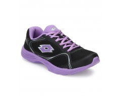 Lotto Black Running Sports Shoes